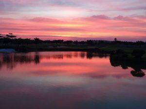 Sunset at Zion Hills