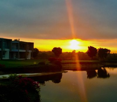 Sunrise at Zion Hills