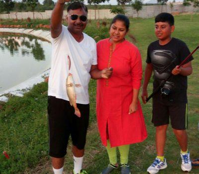 Fishing at Zion Hills